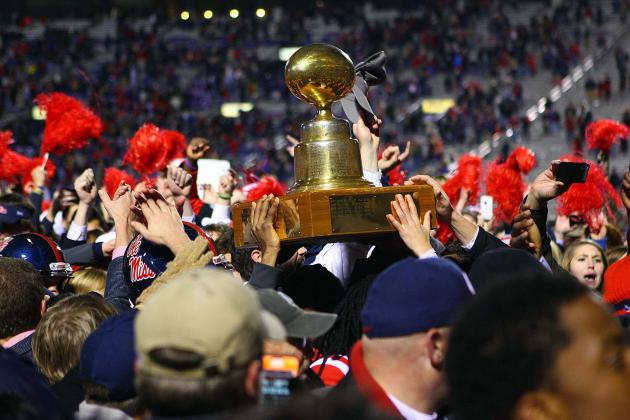 How Thanksgiving Night Egg Bowl Benefits Ole Miss and Mississippi State