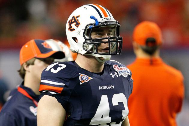 Former Auburn TE Lutzenkirchen Will Participate in Local Workout with Falcons