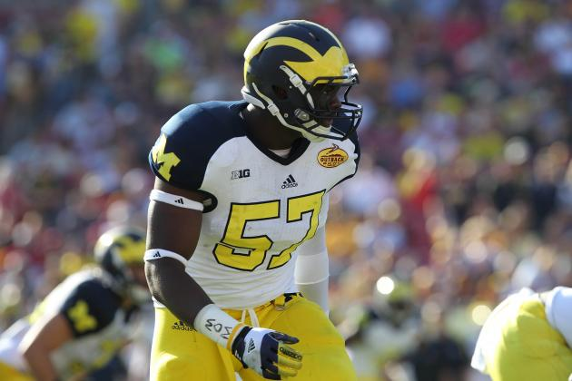 DE Frank Clark Holding His Own Against Taylor Lewan, Earning All-Big Ten Buzz