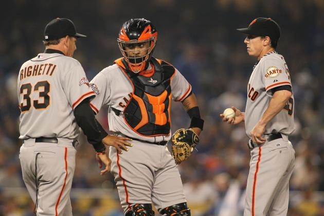 Bochy Won't Rule out Hector-Timmy as Regular Combo