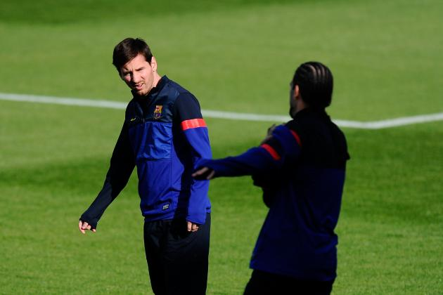 Lionel Messi Must Come off Bench vs. PSG If Star Isn't Healthy