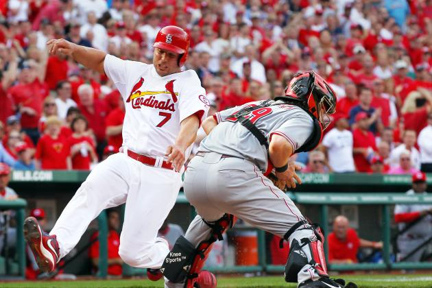 ESPN Gamecast: Reds vs. Cardinals