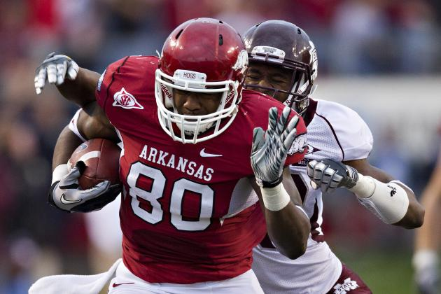 Chris Gragg Scouting Report: NFL Outlook for Arkansas TE