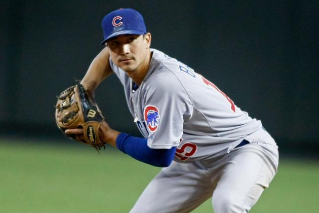 Cubs' Darwin Barney Due Back Next Week; Matt Garza a Month Away