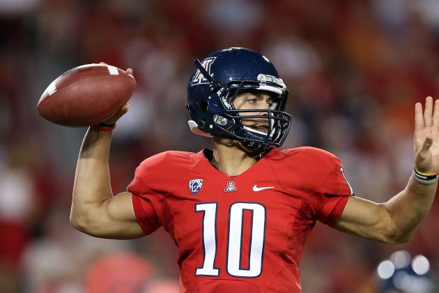 Matt Scott of Arizona to Visit with Broncos as Prospect at Quarterback