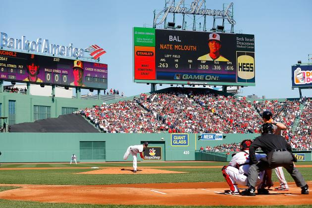 Fenway Park Opener for Red Sox: What a Difference Seven Months Makes
