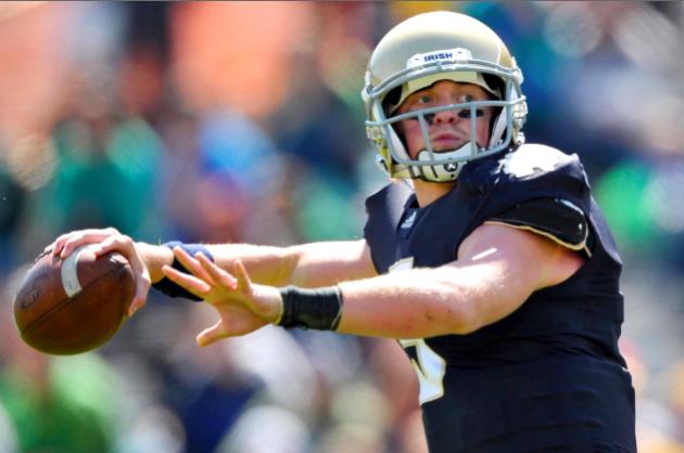 Former Notre Dame QB Gunner Kiel Will Reportedly Enroll at Cincinnati