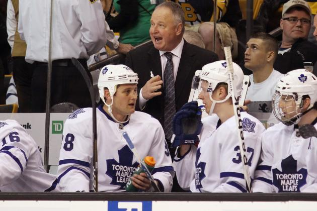'We Are Trying to Earn the Respect Back for Our Hockey Club': Randy Carlyle
