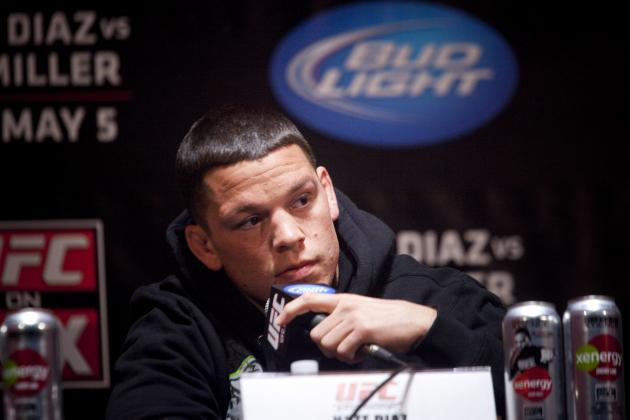 Nate Diaz Drops Cesar Gracie as Manager, Picks Up Mike Kogan
