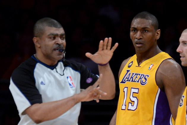 Los Angeles Lakers:  Is Metta World Peace Too Sexy?