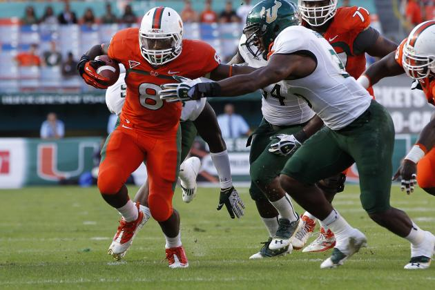 How Miami RB Duke Johnson Can Take His Game to Another Level in 2013