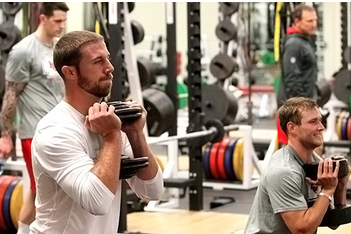 Players Embracing Workouts at One Arrowhead Drive
