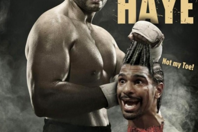 Photo: Charr Tweets Photo of Haye's Severed Head