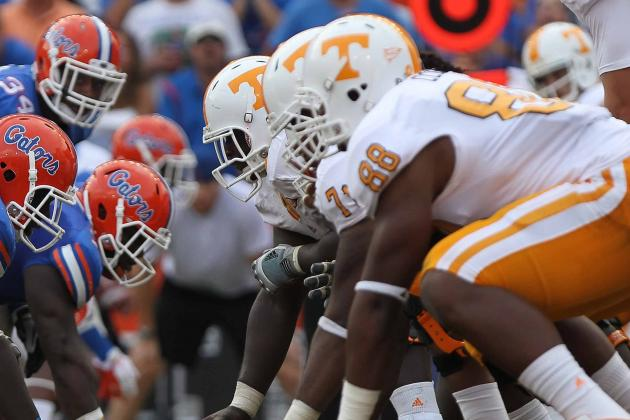 Tennessee Vols Tinker with Offensive Line