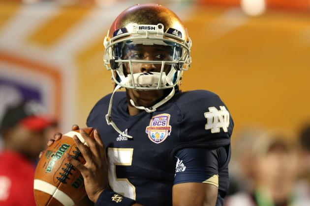 Improvements Everett Golson Must Make to Be a Heisman Contender in 2013