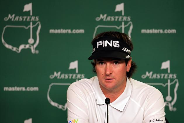 Bubba Watson Wise Not to Use Hovercraft as Sideshow Attraction at 2013 Masters
