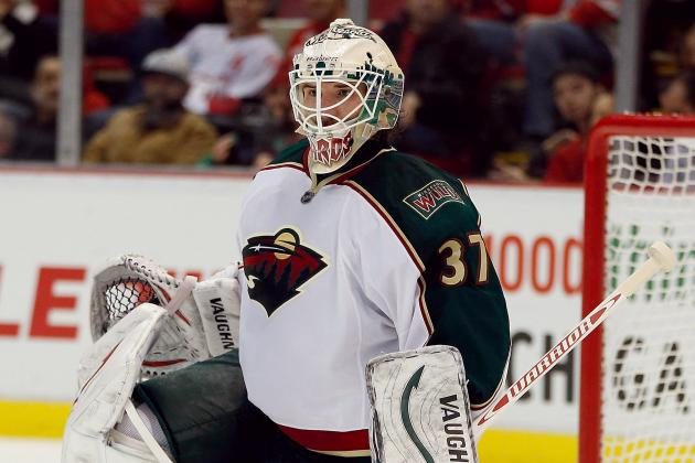 Video: Wild's Harding Practices for First Time Since MS Setback