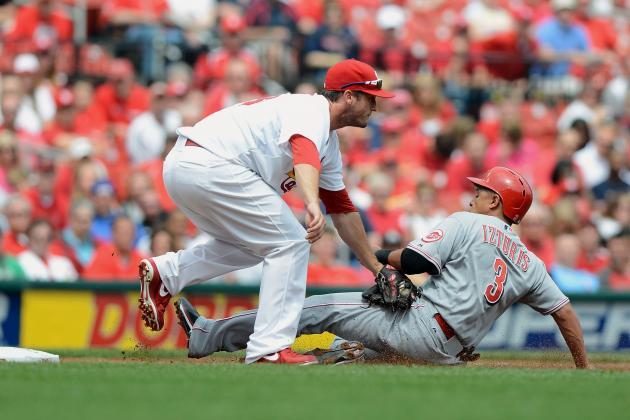 Cardinals 10, Reds 0