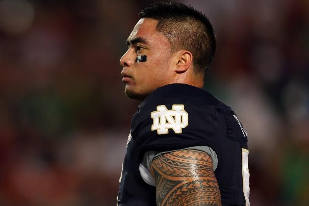 Notre Dame LB Manti Te'o Visiting the Miami Dolphins