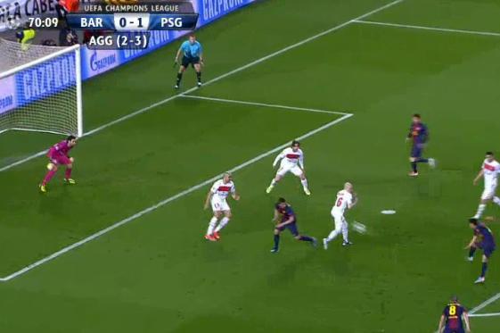 Pedro Equalizes for Barcelona
