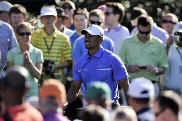 Masters Odds 2013: Tiger Woods and Favorites Betting Lines