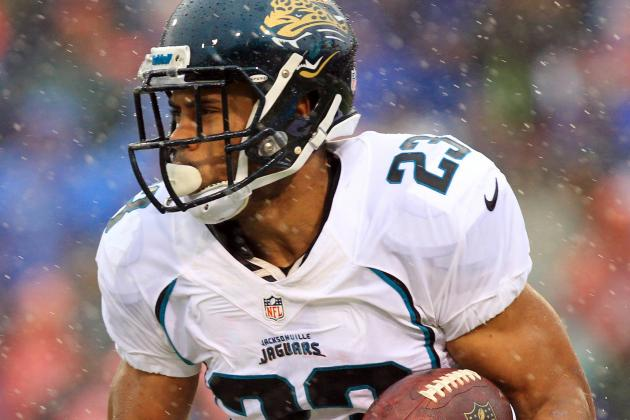 Rashad Jennings Works out for Raiders