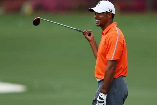 Tiger Woods and Other Stars with Best Odds to Win 2013 Masters Tournament