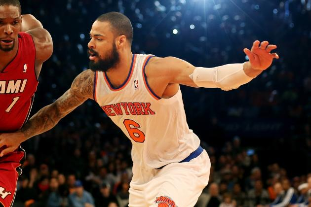 Tyson Chandler and Kenyon Martin out for Knicks Against Chicago Bulls