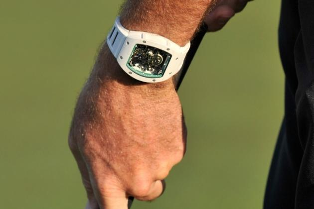 Masters' Champ Bubba Watson Still Wears $500,000 Watch Because He Is Awesome