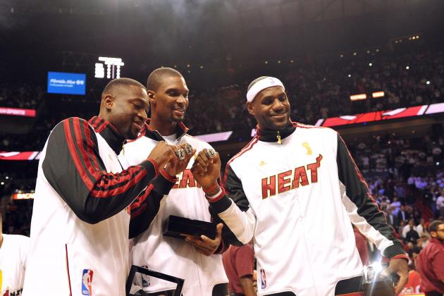 LeBron James, Dwyane Wade and Chris Bosh All out Tonight vs. Wizards