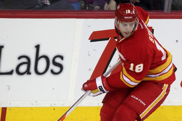 No Hudler, No Stajan for Flames Tonight vs. Vancouver