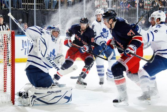 ESPN GameCast: Maple Leafs vs. Rangers
