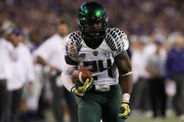 Kenjon Barner Scouting Report: NFL Outlook for Oregon RB