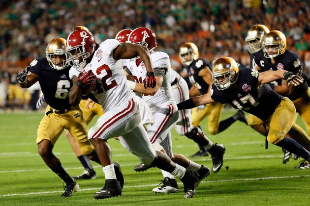 Eddie Lacy Scouting Report: NFL Outlook for Alabama RB