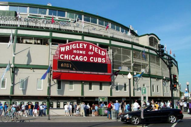 Goat's Head Delivered to Wrigley