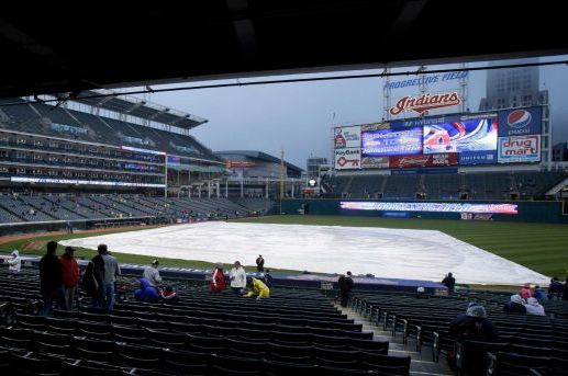 Yankees-Indians Game Postponed by Rain