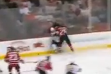 VIDEO: Anton Volchenkov Ejected for Elbowing Brad Marchand