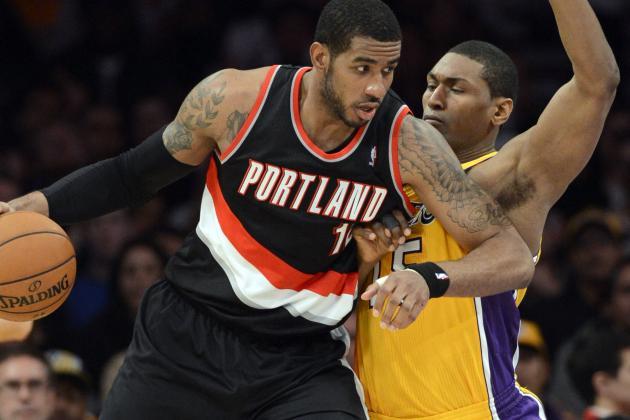 NBA Gamecast: Lakers vs. Blazers