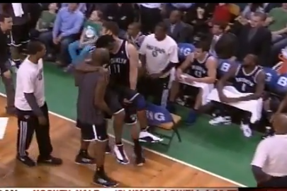 VIDEO: Gerald Wallace Has to Be Carried off After Foot Injury