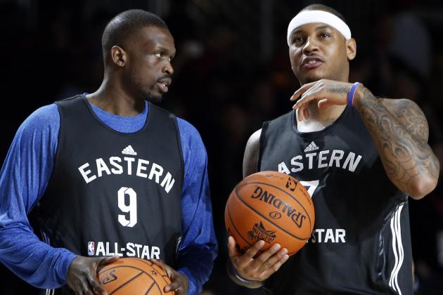Bulls' Best Chance to Stop Carmelo Is with Deng