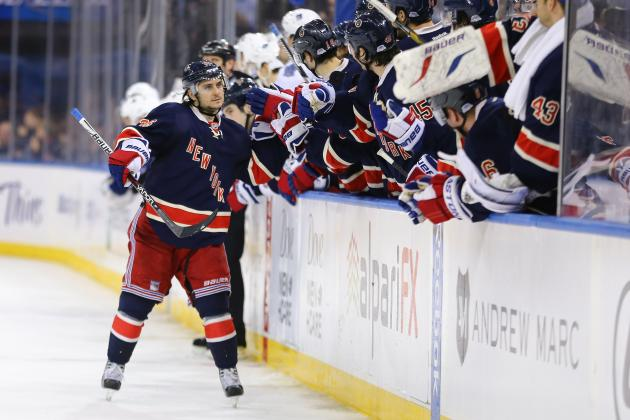 Zuccarello Answers Coach's Plea, Lifts Rangers
