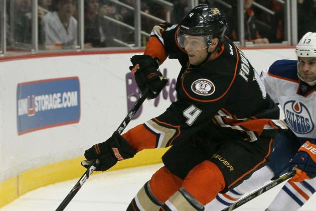 Cam Fowler Doubtful to Return vs. Avs with Upper-Body Injury
