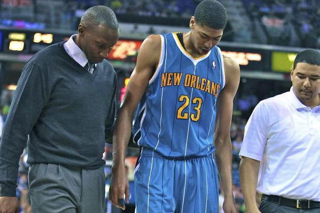 Anthony Davis Injury: Updates on Hornets Star's Knee