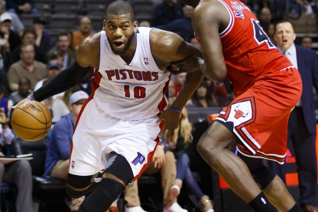 Pistons' Greg Monroe Plans Summer Tuneup
