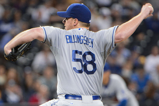 Chad Billingsley Returns to Lead Dodgers Past Padres, 4-3