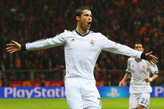 Charting Cristiano Ronaldo's 2012-13 Champions League Campaign with Real Madrid