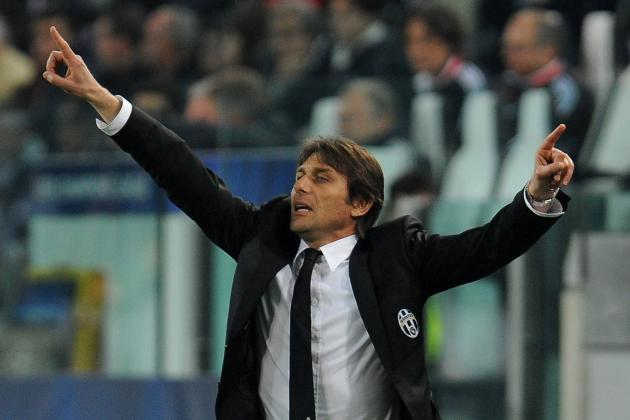 Juventus Coach Antonio Conte Says Italian Clubs Won't Win Champions League Soon