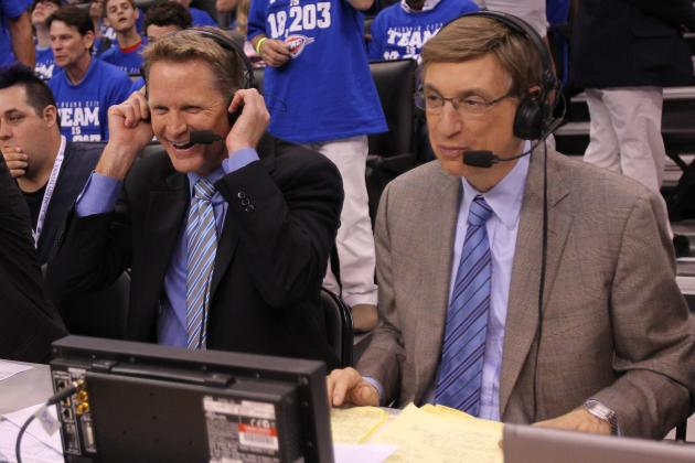 Analysts, No Play-by-Play Man, to Call NBA Game on TNT