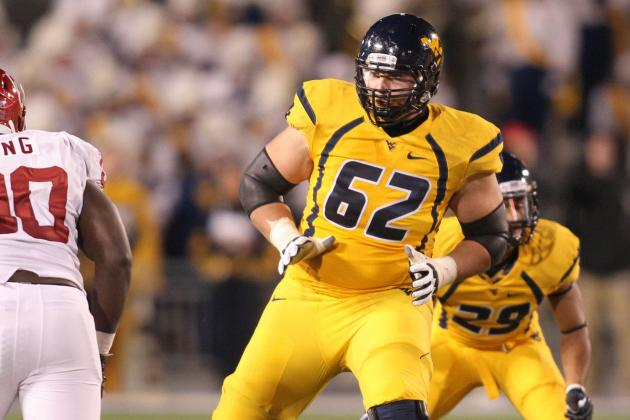 Roommates Fight for WVU Right Tackle Position
