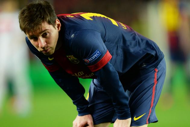 Barca Docs Say Lionel Messi Hamstring Injury Did Not Get Worse